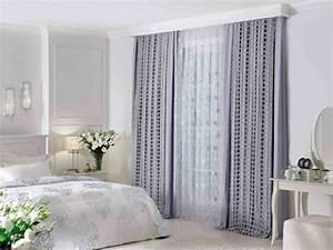Gardinen Für Schlafzimmer : gardinenideen die den zimmerlook vollenden ~ Watch28wear.com Haus und Dekorationen