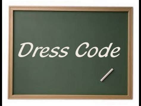On Dress Codes « Selfeducatedconservative