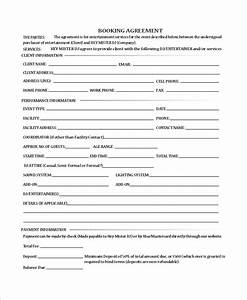 Sample dj contract 10 examples in word pdf for Dj booking contract template