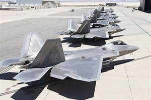PHOTOS: The last time you'll ever see 7 F-22s at Edwards ...