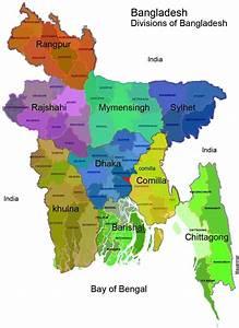 Bangladesh Map Division Wise