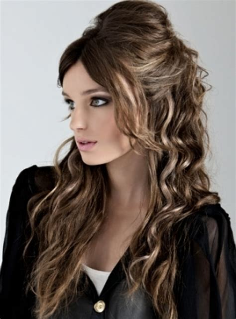 easy curly hairstyles you can wear to work fave hairstyles