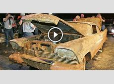 1957 Plymouth Belvedere BURIED UNDERGROUND As A Part Of A