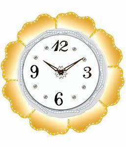 Unique Yellow Digital Wall Clock: Buy Unique Yellow ...