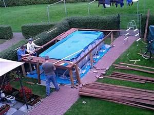Poolfolie Verlegen Anleitung : pool aus holz selber bauen poolbau aus holz youtube poolabdeckung selber bauen poolheizung ~ Eleganceandgraceweddings.com Haus und Dekorationen