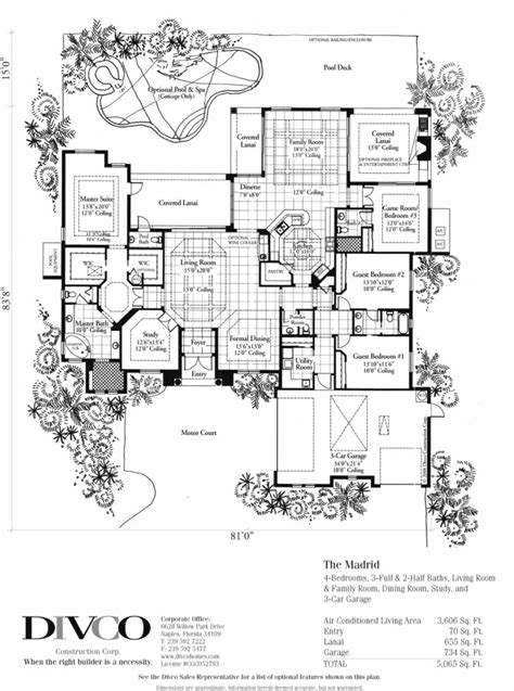 house floor plan builder great florida floor plans for new homes new home plans