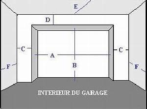 prendre ses mesures pour sa porte de garage sectionnelle With combien coute une porte de garage