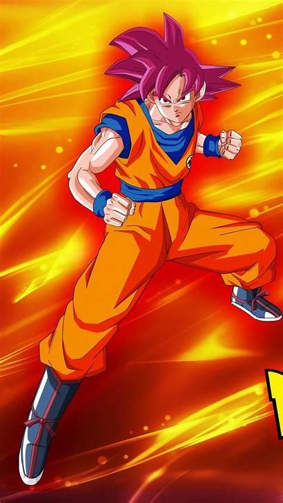 Goku Saiyan Super God Wallpapers Android Dragon