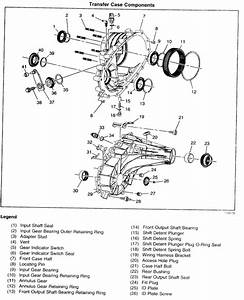 Need Diagram Of A Transfer Case For A 2004 3500 Pick Up