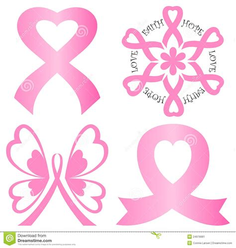 cancer ribbon heart clipart clipground