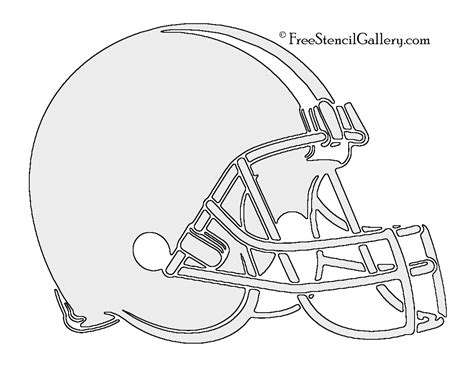 Nfl Cleveland Browns Stencil Free Stencil Gallery