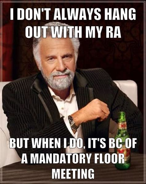 Ra Memes - 21 thoughts while training to be an ra
