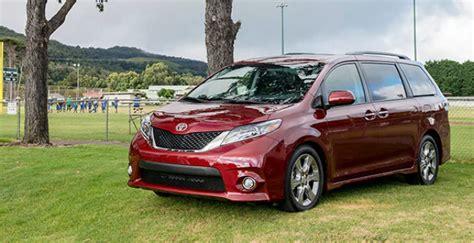2020 Toyota Sienna Redesign Schedule