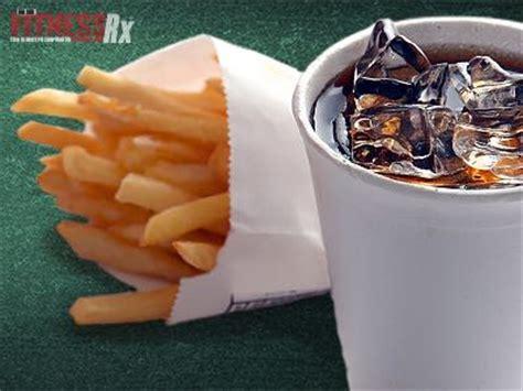 soda french fries fitnessrx  men