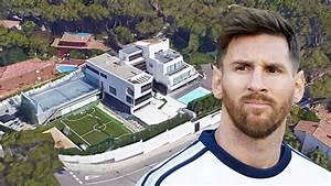 Maison De Lionel Messi : maison de lionel messi barcelone int rieur ext rieur conception youtube ~ Melissatoandfro.com Idées de Décoration