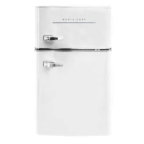 hotpoint  cu ft top freezer refrigerator  white