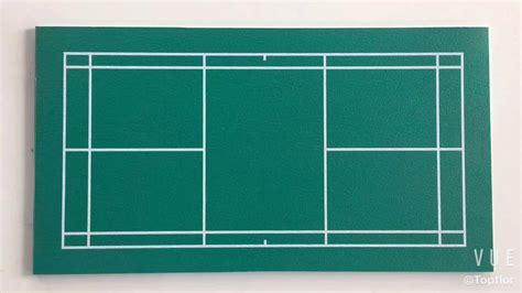 Indoor Sports Flooring Used For Badminton Court Flooring