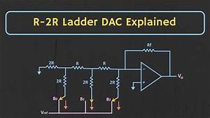 R-2r Ladder Dac Explained  With Solved Example
