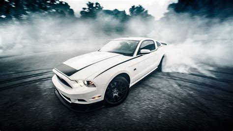 wallpaper ford mustang sports car  qhd picture image