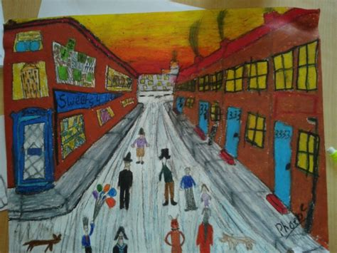 lively lowry art project  kids art  school