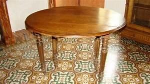 Touret Bois Le Bon Coin : le bon coin table ronde en bois ~ Dailycaller-alerts.com Idées de Décoration