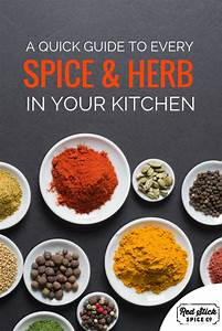 A Quick Guide To Every Spice And Herb In Your Kitchen