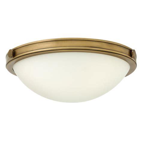 l shade wide fitting elstead lighting hinkley collier 2 light small flush