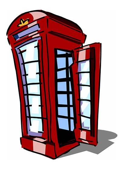 Booth Clipart Phone Clip Telephone Call Cliparts