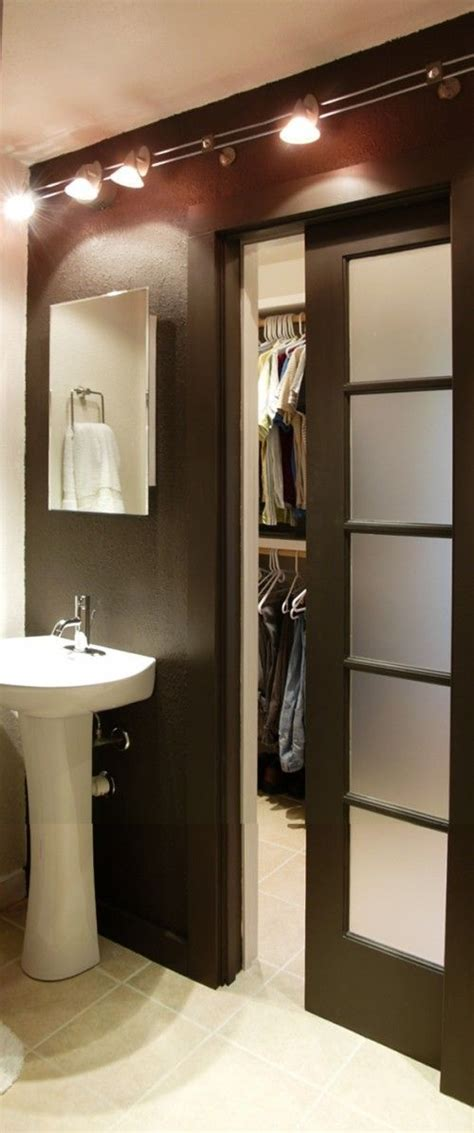 bathroom closet door ideas 390 best small space bathrooms big dreams images on