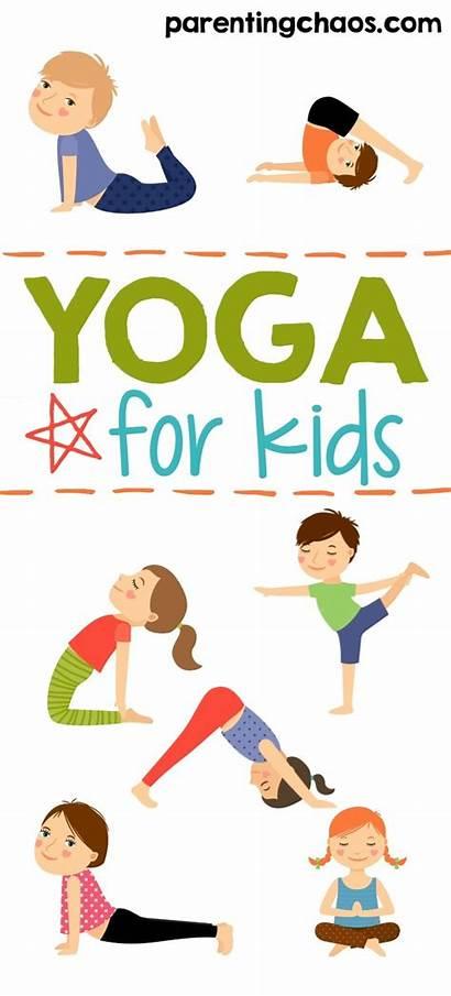 Yoga Printable Poses Chaos Parenting Parentingchaos Source