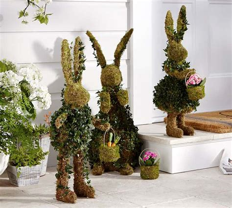 outdoor indoor green easter decorations