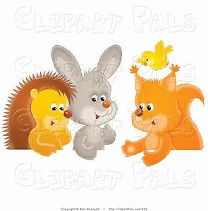 Group Of Animals Together Clipart