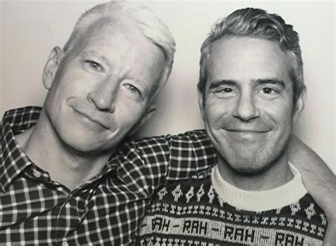 andy cohen and anderson cooper friends anderson cooper andy cohen are legit best friend goals