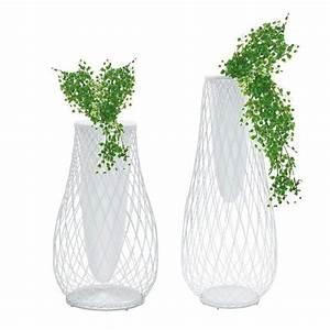 Grand Vase Blanc 1 Metre : vase heaven jardinchic ~ Teatrodelosmanantiales.com Idées de Décoration