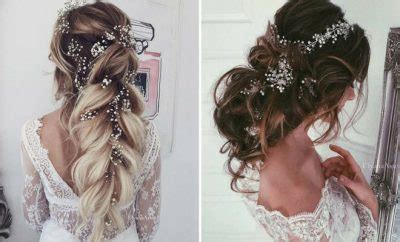 romantic wedding hairstyles  long hair page