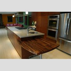 Custom Wood Solid Surface Kitchen Countertops Sacramento