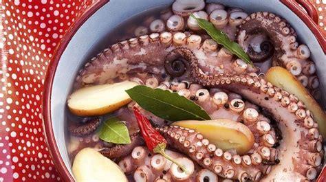 cuisine poulpe recette de poulpe calamars chipirons seiche l 39 express