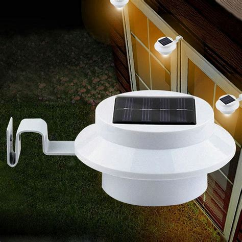 3 bright white led garden led solar light outdoor