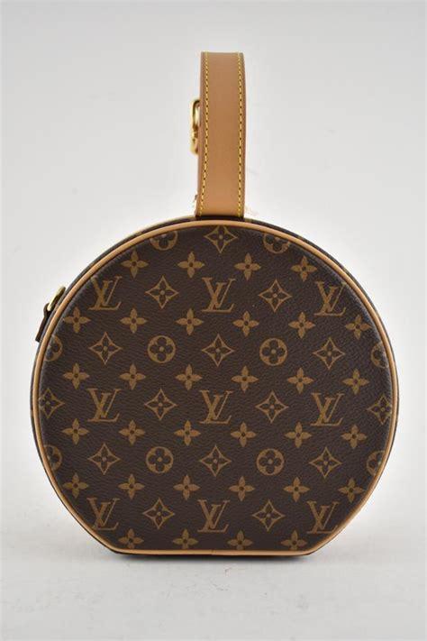louis vuitton box petite boite chapeau monogram lv logo