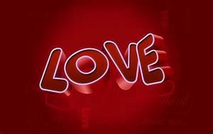 Desktop Hd Wallpaper Of Love 3D