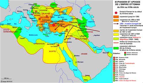 Empire Ottoman Carte by Histoire De L Empire Ottoman Et De La Turquie