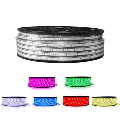 110v 120v 220v led lighting strips waterproof mjjcled