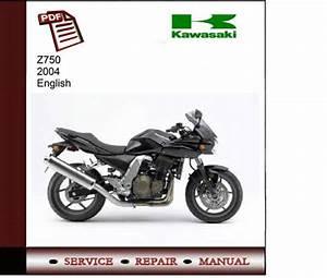 Kawasaki Z750 2004 Service Manual