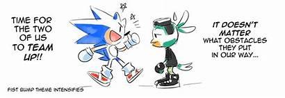 Comic Sonic Drawloverlala E621 Forces Boom Hedgehog