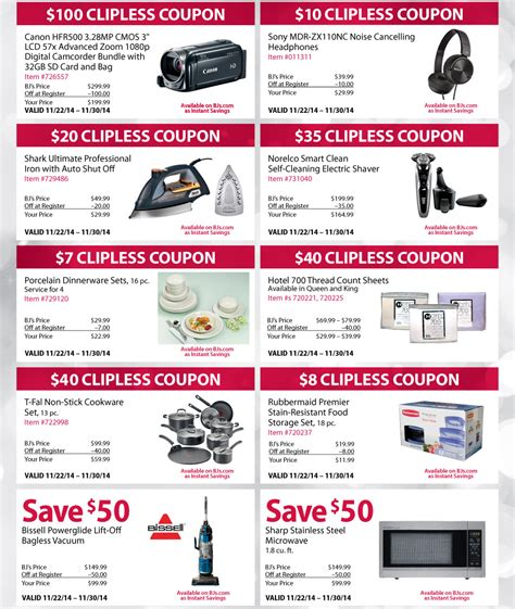 Black Friday Preview - BJ's Wholesale Club