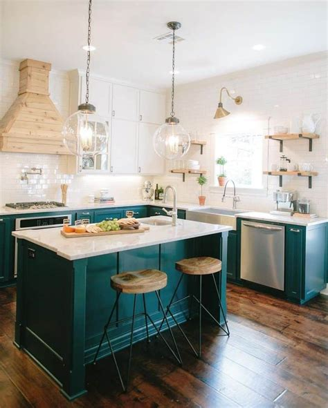 teal kitchen ideas add sophistication and drama to your home with teal color designrulz