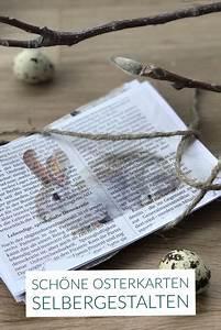 Osterkarten Basteln Anleitung : anleitung f r eine vintage osterkarte mit hasenmotiv osterkarten drucken ~ Pilothousefishingboats.com Haus und Dekorationen