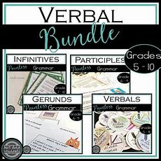 Verbals  Participles, Geru By Just Add Students  Teachers Pay Teachers