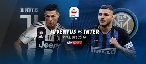 Juventus E Inter Ao Vivo