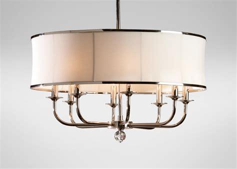 Home Decorators 8 Light Chandelier : Zoe Eight-light Nickel Chandelier